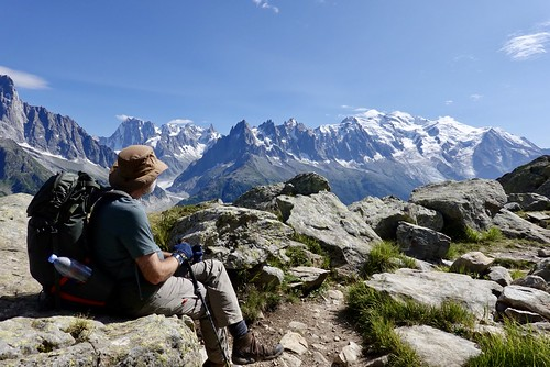 Looking at the Mont Blanc massif | by danlmarmot
