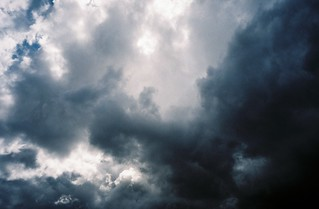 Rainclouds above the Banana Bridge | by knautia