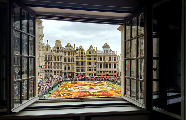 A room with a view, Brussels, Belgium