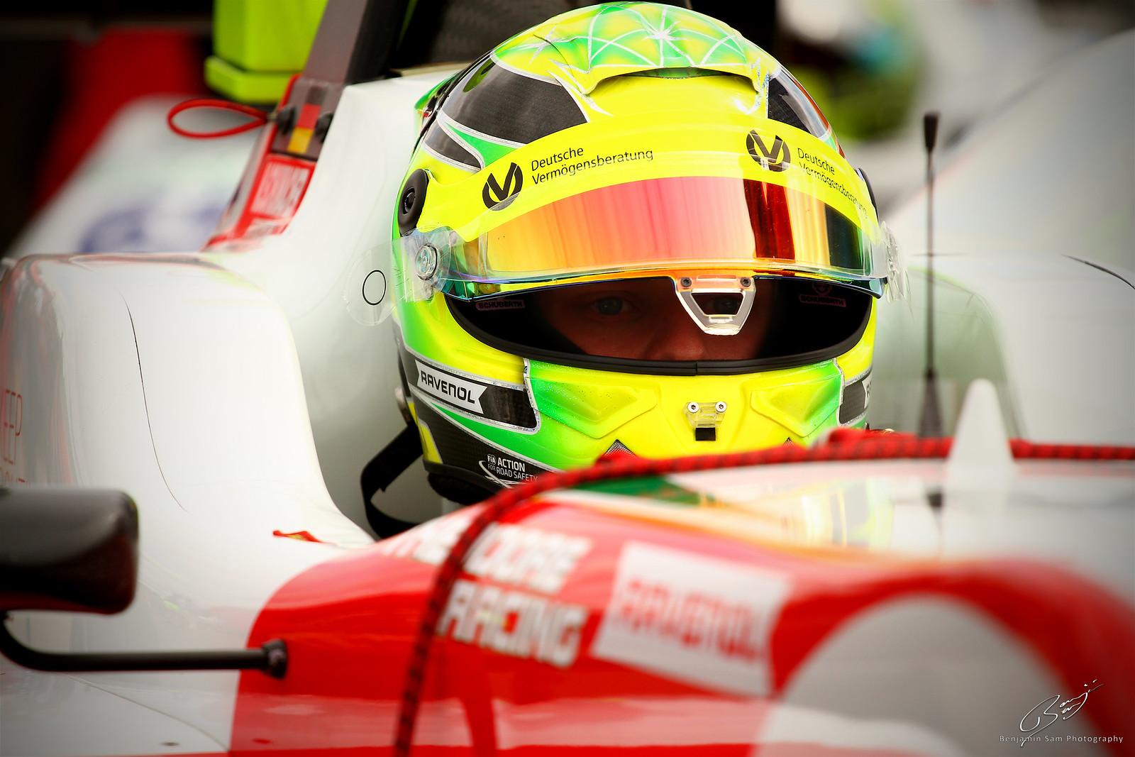 Mick Schumacher - Silverstone - 17.08.18 - Qualifying