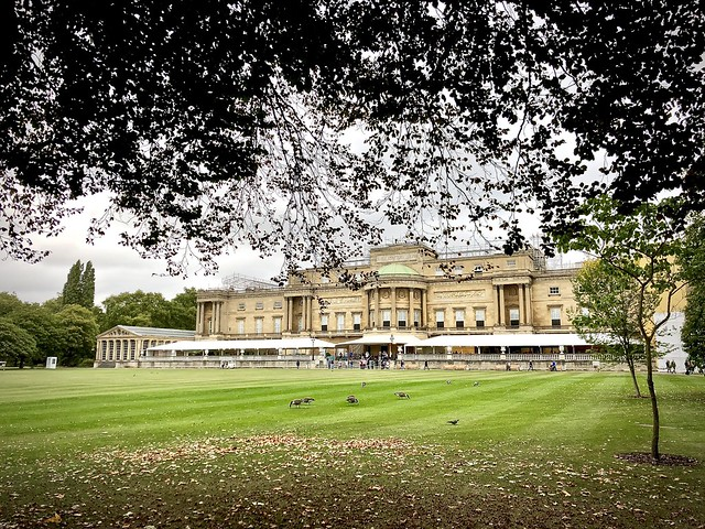 Buckingham Palace, rear view