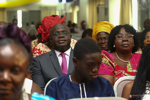 A section of parents observing the ceremony.