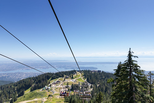 Grouse Mountain chairlifts | by dronepicr
