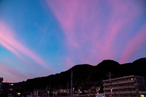 Minobu sunset | by yukilanieve