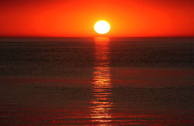 Sunset in Vermilion