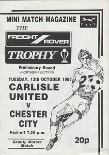 Carlisle United V Chester City 13-10-87 | by cumbriangroundhopper