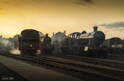 didcot greatwestern sunset gwr tle