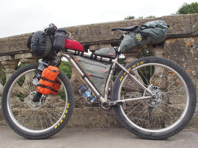 Worthing to Plymouth bikepacking trip