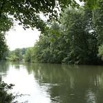 Die Ruhr im NSG Ruhruferstreifen am Golfplatz Oefte