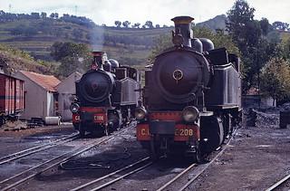 CP E206 & CP E208, Régua, 21 September 1973
