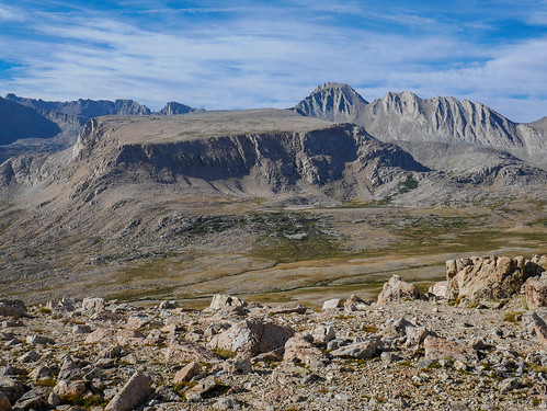 Diamond Mesa and Junction Peak from Rockwell Pass | by snackronym