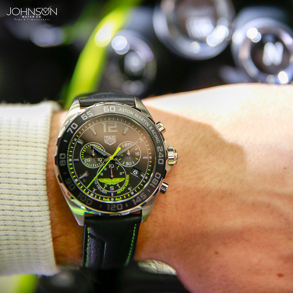 Tag Heuer Aston Martin Tag Heuer Announced Its Partnership Flickr