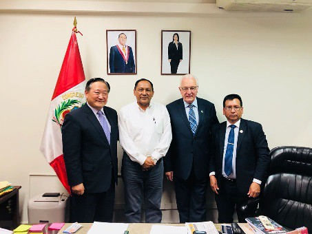Peru-2018-07-06-UPF Meets With Government Leaders in Peru