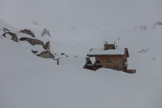 Grand Tour de la Vanoise, sneeuwschoen huttentocht