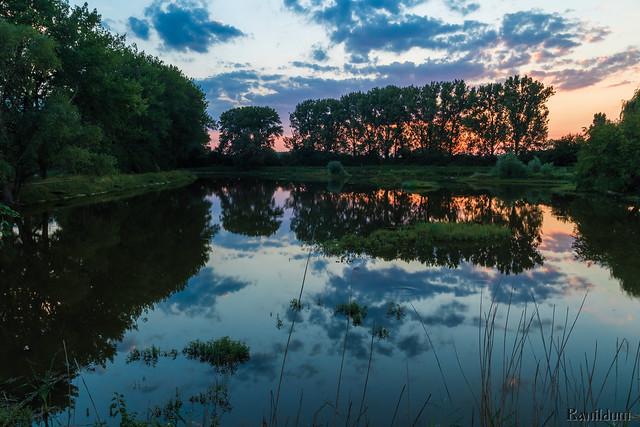 Lake Devinska Nova Ves