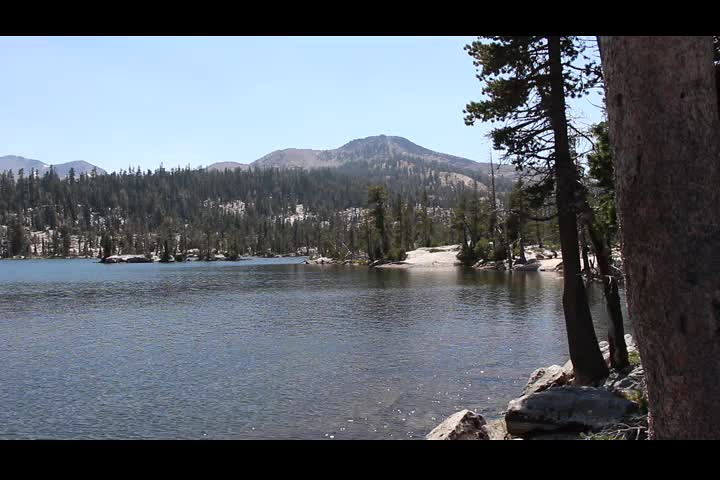 0906 Panorama video of Middle Velma Lake from the northwest shore