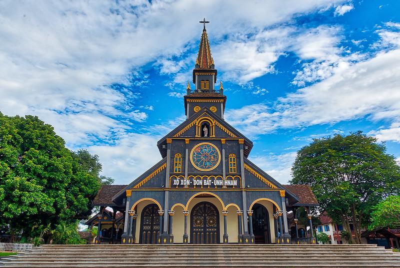 Cathedral of Kon Tum Vietnam