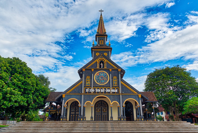 Cathedral of Kon Tum Vietnam