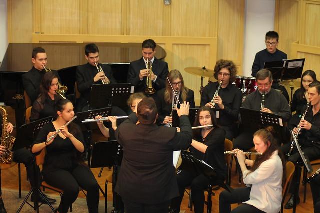 Vikár Fúvós koncert 2017. december 13.
