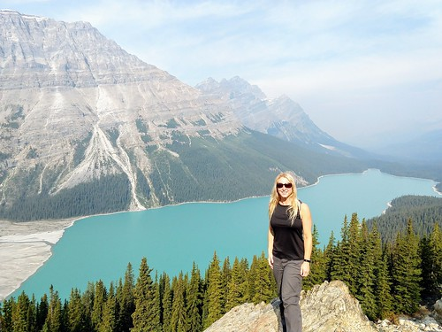 Me at Peyto Lake Icefields Parkway Alberta Canada | by amanderson2