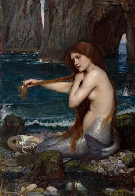 John William Waterhouse - A Mermaid [1900]