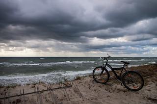 Beach at Nida, Lithuania
