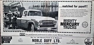 1958 Mercury Pickup (Canada)