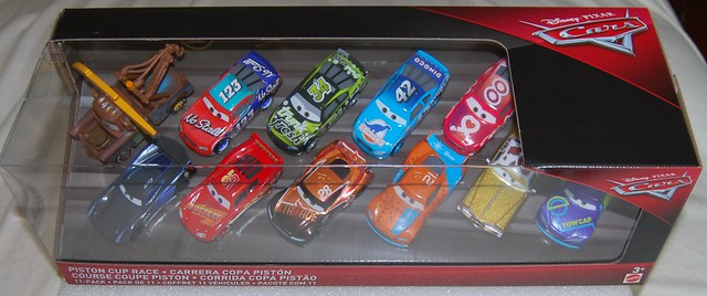 piston cup race 11 pack