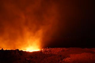 Eruption Piton de la Fournaise le 17 septembre 2018