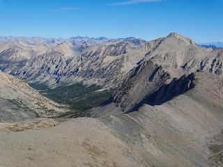 Vidette Canyon from Junction Pass   by snackronym