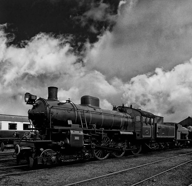 Nene Valley Railway (01) B&W