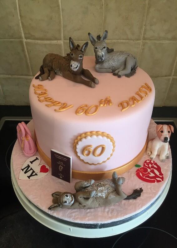 Brilliant Happy 60Th Birthday Lotties Cakes Flickr Funny Birthday Cards Online Alyptdamsfinfo