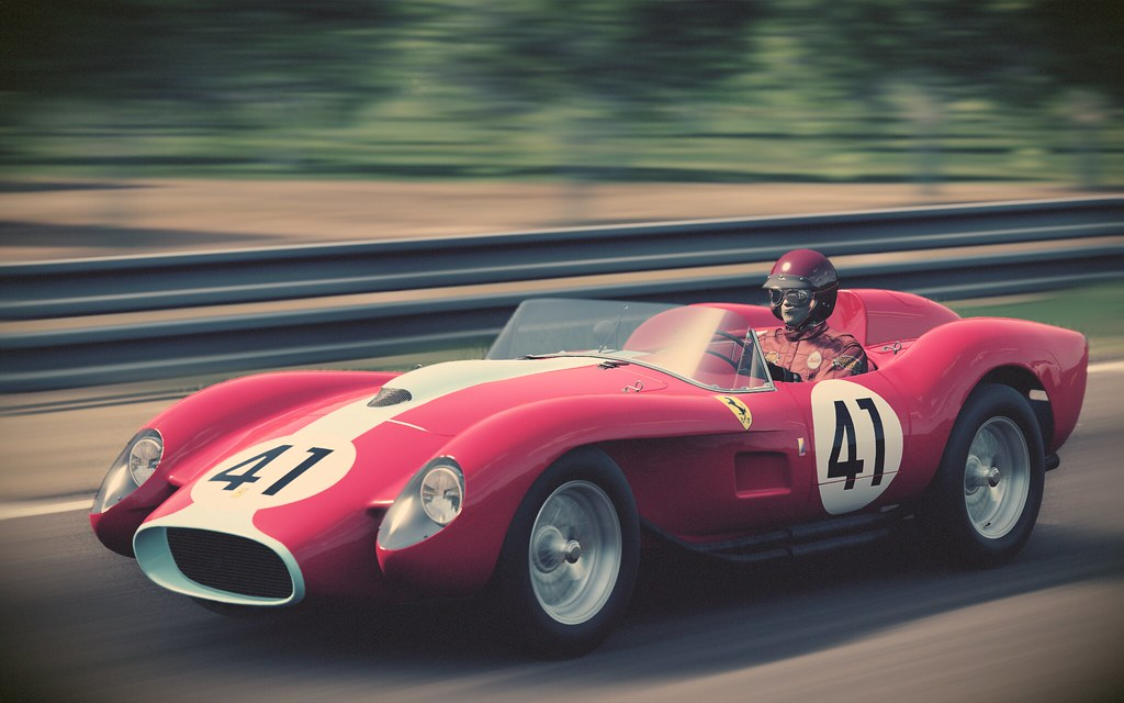 Ferrari 250 Testa Rossa At Le Mans Classic Project Cars 2