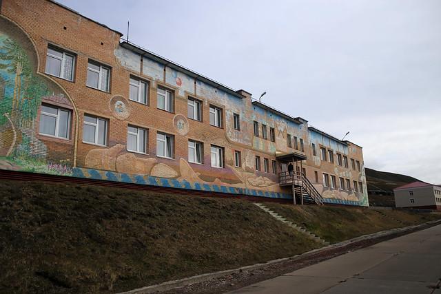 Barentsburg school