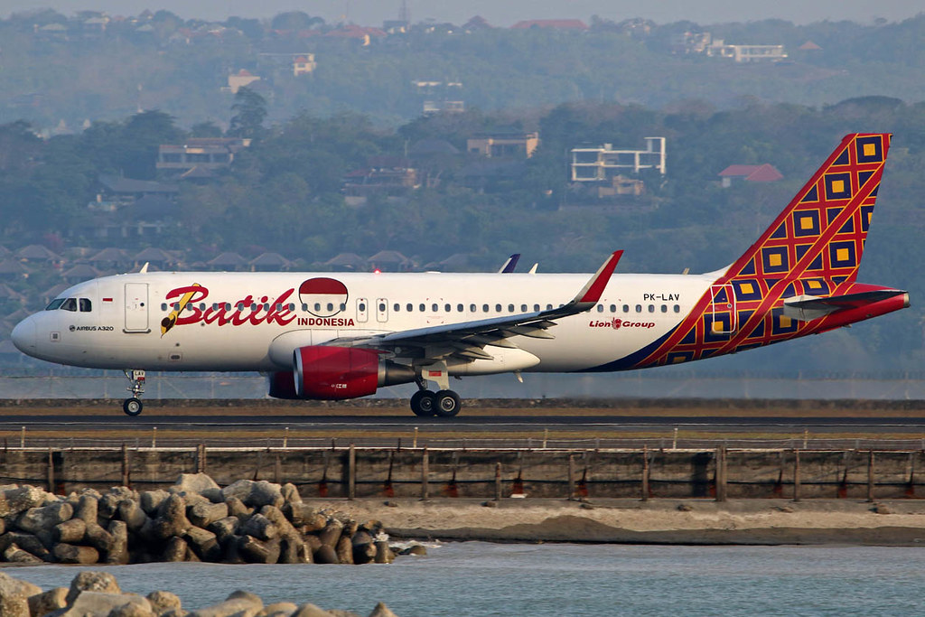 PK-LAV Airbus A320-214/WL Batik Air cn 6991