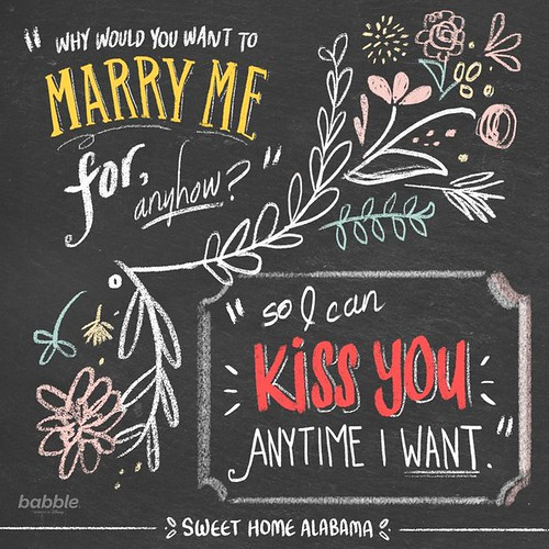 Love Quote And Saying Why Would You Want To Marry Me Fo Flickr