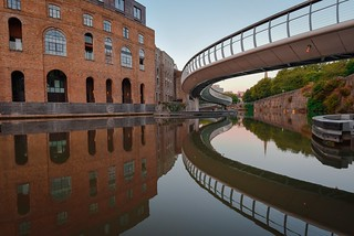 Castle Bridge in central Bristol