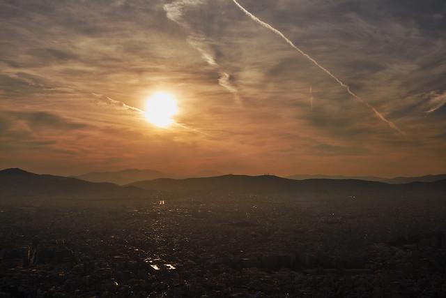 Athens – Sunset