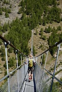 The hanging bridge   by danlmarmot