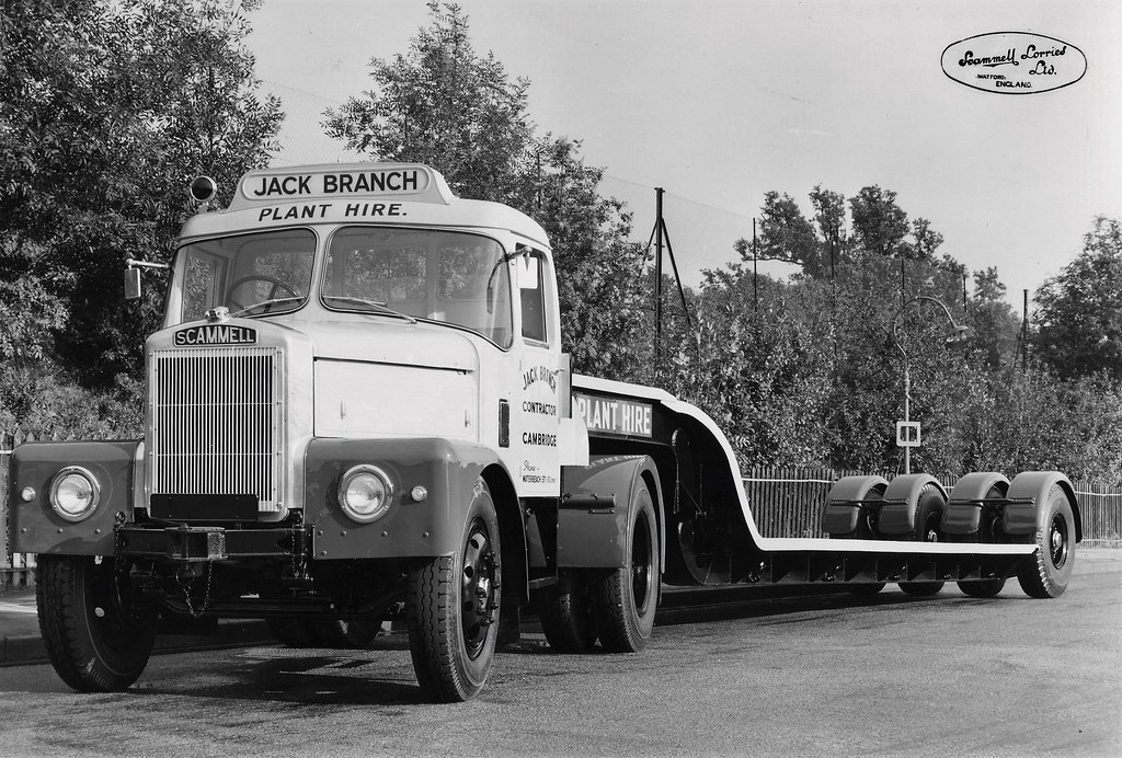 Scammell Jack Branch Plant Hire An Official Scammell Lorri Flickr
