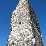 Die Ruine der Burg auf dem Drachenfels