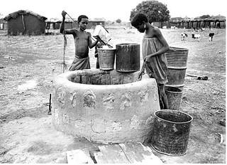 Village well Ghana
