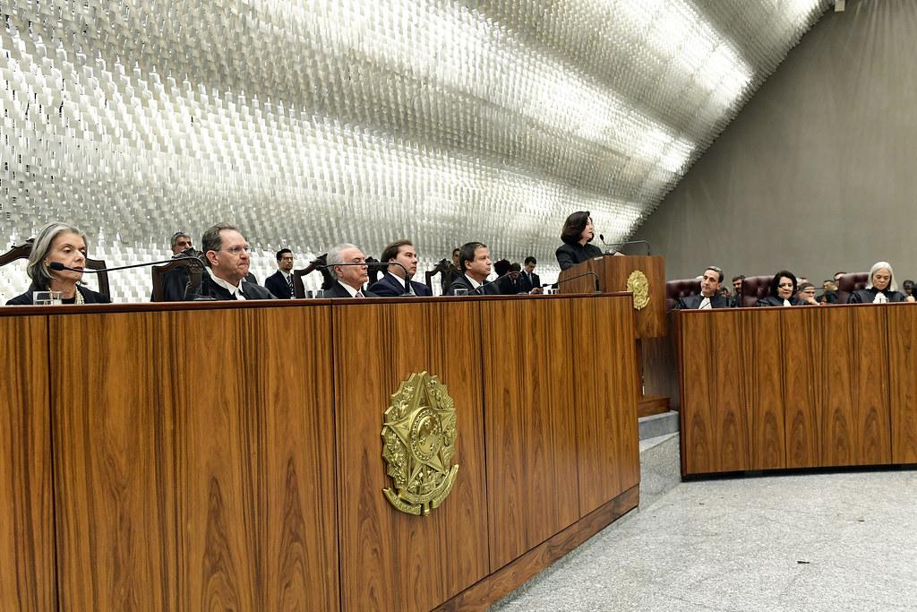 Brasília 29/08/2018 - Posse da nova presidência do STJ para o biênio 2018-2020