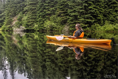 Paddling Algonquin | by G. Monk