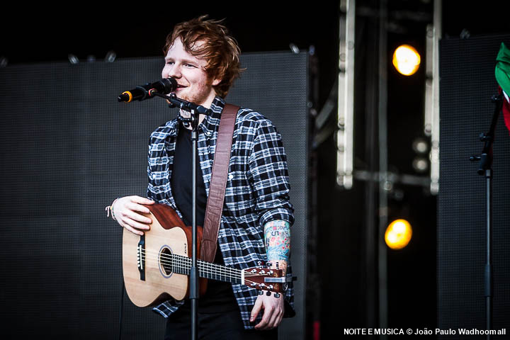 Ed Sheeran - Rock in Rio Lisboa '14