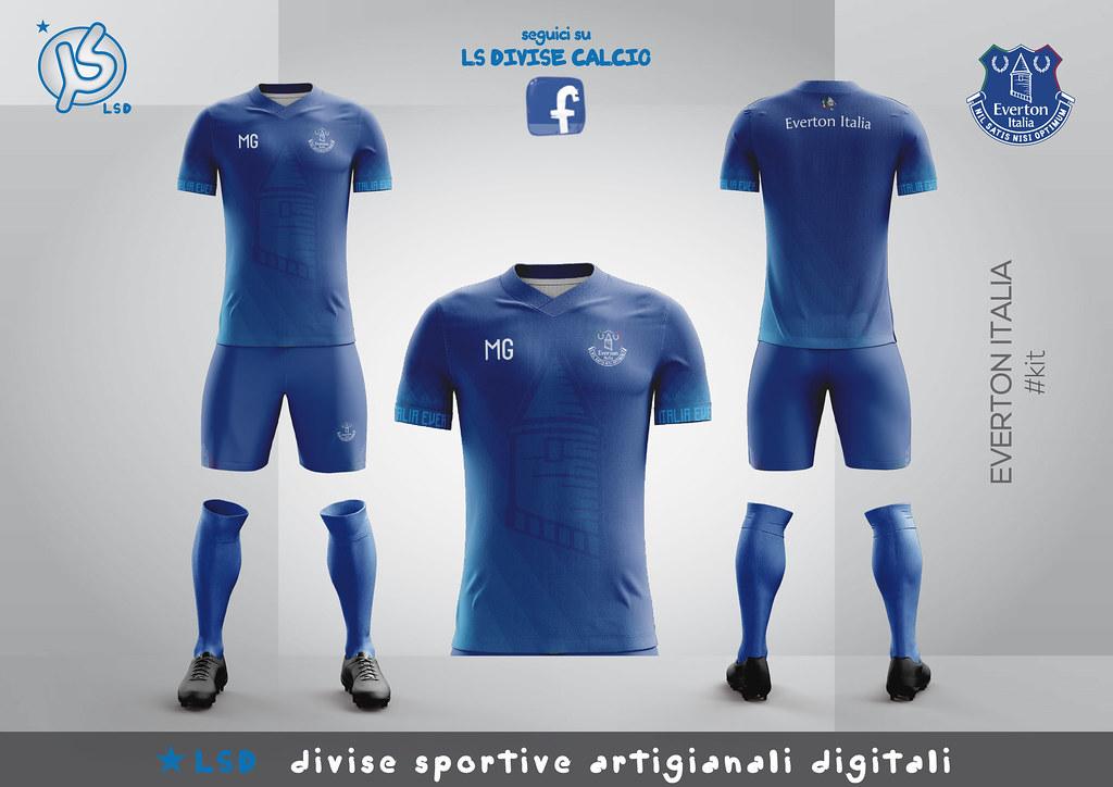 sports shoes 69f16 dc457 Everton Italia - homekit 2018/19 | Everton Italia - homekit ...