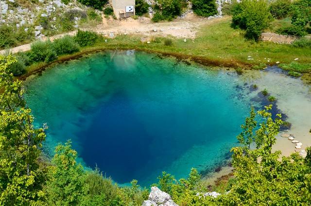 Source of river Cetina