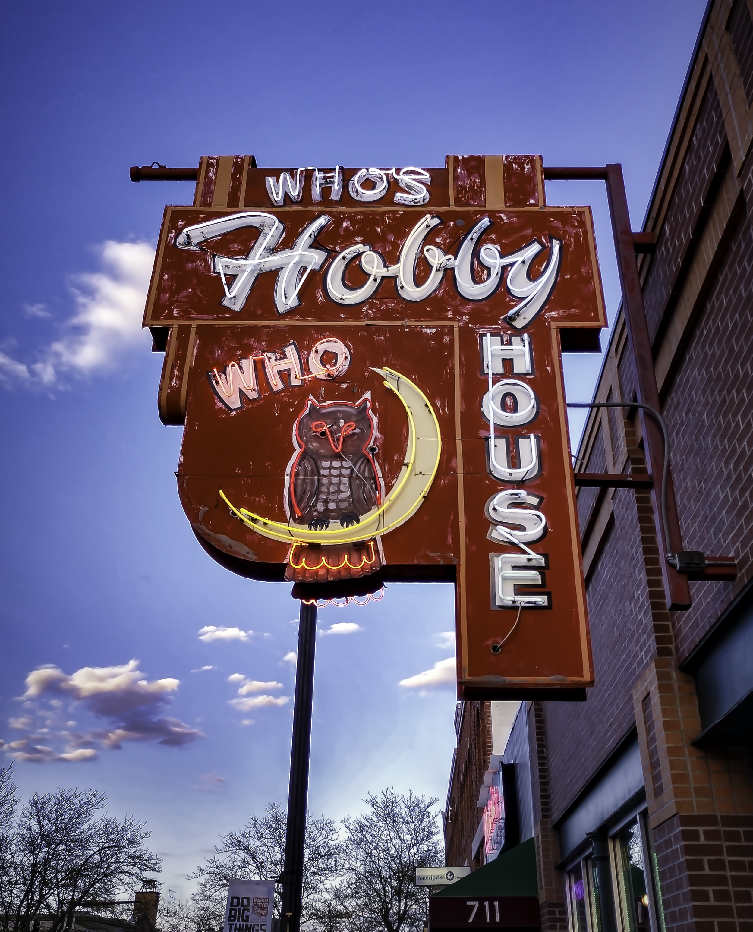 Who's Hobby House - 715 Main Street, Rapid City, South Dakota U.S.A. - May 15, 2018