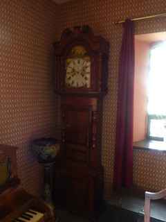 Toll House - Conwy Suspension Bridge - The Parlour - Grandfather clock