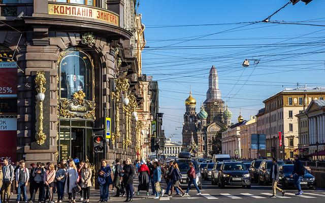 The powerlines of Saint Petersburg, 20180919